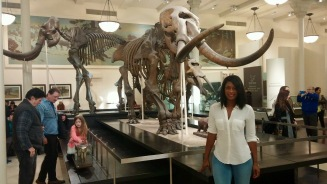 Me at the Natural History Museum.